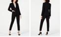 Elie Tahari One-Button Blazer & Skinny Pants