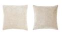 "Jaipur Living Nikki Chu By Chevron Cream Chevron Down Throw Pillow 22"""