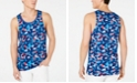 American Rag Men's Star Camouflage Graphic Tank, Created for Macy's