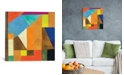 """iCanvas """"Brussels No. 1"""" By Kim Parker Gallery-Wrapped Canvas Print - 18"""" x 18"""" x 0.75"""""""