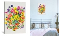 """iCanvas """"Snapdragons and Zinnias"""" By Kim Parker Gallery-Wrapped Canvas Print - 40"""" x 26"""" x 0.75"""""""