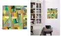 """iCanvas """"Amsterdam"""" By Kim Parker Gallery-Wrapped Canvas Print - 26"""" x 26"""" x 0.75"""""""