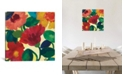 """iCanvas """"Ranunculus Ii"""" By Kim Parker Gallery-Wrapped Canvas Print - 37"""" x 37"""" x 0.75"""""""