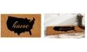 "Home & More USA 18"" x 30"" Coir/Vinyl Doormat"