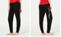 Jenni Embroidered Jogger Pajama Pants, Created for Macy's
