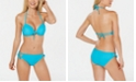 California Waves Juniors' Bikini Top & Lace-Up Hipster Bottoms, Created for Macy's