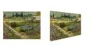 "Trademark Global Van Gogh 'Garden At Arles' Canvas Art - 19"" x 14"" x 2"""