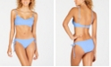 Lucky Brand Shoreline Chic Bralette Bikini Top, Available in D Cup & Shoreline Chic Loop Side Hipster Bottoms