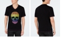 INC International Concepts I.N.C. Men's Adapt Rainbow Skull T-Shirt, Created for Macy's