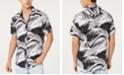 GUESS Men's Rogan Rest In Paradise Palm-Print Shirt