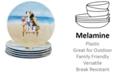 Certified International Hot Dogs Melamine 6-Pc. Dinner Plate Set