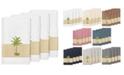 Linum Home Turkish Cotton Colton 4-Pc. Embellished Bath Towel Set