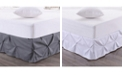 Sweet Home Collection Hudson Pintuck Ruffled Full Bedskirt