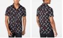 A|X Armani Exchange Men's Stretch Logo-Print Shirt Created For Macy's