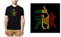 LA Pop Art Mens Premium Blend Word Art T-Shirt, One Love