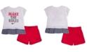 Nike Baby Girls 2-Pc. T-Shirt & Shorts Set
