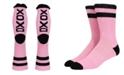 SOCK TALK Ladies' Crew Socks XOXO