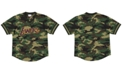 Mitchell & Ness Men's Los Angeles Lakers Camo Mesh V-Neck Jersey Top