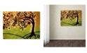 "Trademark Global Natasha Wescoat '143' Canvas Art - 35"" x 47"""