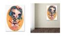 "Trademark Global Natasha Wescoat 'Katana Kisser' Canvas Art - 24"" x 32"""