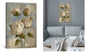 """iCanvas Peony on Soft Blue by Silvia Vassileva Gallery-Wrapped Canvas Print - 18"""" x 12"""" x 0.75"""""""