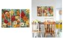 "iCanvas Bright Expressive Garden by Silvia Vassileva Gallery-Wrapped Canvas Print - 40"" x 60"" x 1.5"""