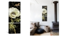 """iCanvas Jardin Paris Florals I by Danhui Nai Gallery-Wrapped Canvas Print - 60"""" x 20"""" x 1.5"""""""