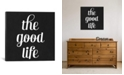 """iCanvas Modern Art- The Good Life by 5By5Collective Gallery-Wrapped Canvas Print - 26"""" x 26"""" x 0.75"""""""