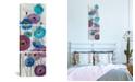 "iCanvas Bold Anemones Panel Ii by Silvia Vassileva Gallery-Wrapped Canvas Print - 48"" x 16"" x 1.5"""