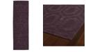"""Kaleen Imprints Modern IPM01-95 Purple 2'6"""" x 8' Runner Rug"""