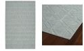 Kaleen Imprints Modern IPM08-79 Light Blue 5' x 8' Area Rug