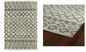 Kaleen Casablanca CAS01-75 Gray 4 'x 6' Area Rug