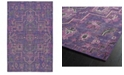 Kaleen Relic RLC01-95 Purple 2' x 3' Area Rug