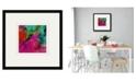 "Courtside Market Unabashed I 16"" x 16"" Framed and Matted Art"