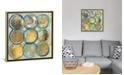 "iCanvas Indigo Gold by Carol Robinson Gallery-Wrapped Canvas Print - 37"" x 37"" x 0.75"""