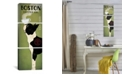 """iCanvas Boston Terrier Coffee Co. by Ryan Fowler Gallery-Wrapped Canvas Print - 60"""" x 20"""" x 1.5"""""""