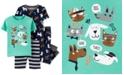 Carter's Toddler Boys 4-Pc. Cotton Pets Pajama Set