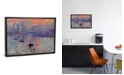 """iCanvas Sunrise Impression by Claude Monet Gallery-Wrapped Canvas Print - 26"""" x 40"""" x 0.75"""""""
