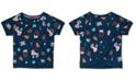 Calvin Klein Big Girls Printed Cross-Back Sweatshirt