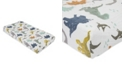 Little Unicorn Dino Friends Cotton Muslin Changing Pad Cover