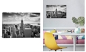 """iCanvas Nyc Downtown by Nina Papiorek Wrapped Canvas Print - 18"""" x 26"""""""