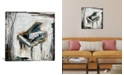 """iCanvas Imprint Piano by Kelsey Hochstatter Wrapped Canvas Print - 26"""" x 26"""""""