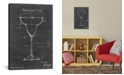 "iCanvas Barware Blueprint Vi by Ethan Harper Wrapped Canvas Print - 26"" x 18"""