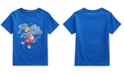 Polo Ralph Lauren Little Boys Bee Bear Cotton Rugby Royal T-Shirt