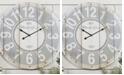 """VIP Home & Garden 23"""" Wood Wall Clock"""