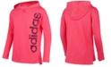 adidas Big Girls Logo-Print Cotton Hoodie