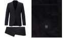 Hugo Boss BOSS Men's Extra-Slim-Fit 3-Pc. Plain-Check Virgin Wool Suit