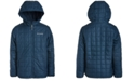 Columbia Big Boys Rugged Ridge Hooded Jacket With Faux-Sherpa Lining