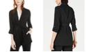 Bar III Shawl-Collar Belted Blazer, Created for Macy's