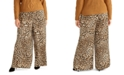 RACHEL Rachel Roy Trendy Plus Size Alice Animal-Print Pants